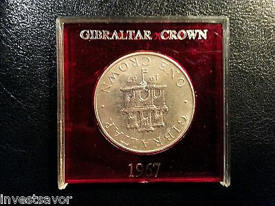1967 Gibralter Proof One Crown - Very Nice Collectible
