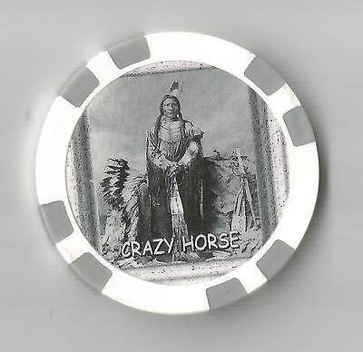 Crazy Horse Leader Of Oglala Lakota   Collector  Chip