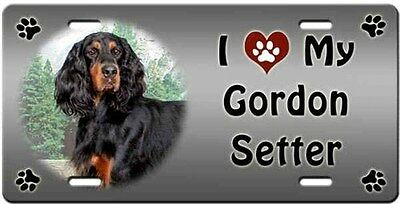 Gordon Setter License Plate - Love