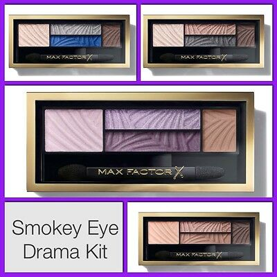 Max Factor Smokey Eye Drama Kit 2-In-1Eye Shadow And Brow Powder  In Retail Pack