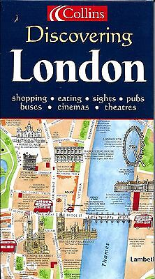 Easy London Map.Map Of London By Collins Easy Route Planning Map 3 95 Picclick