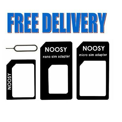 4 In 1 Pack Nano To Micro & Standard Sim Card Adapter For Every Phone/all Models