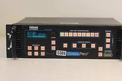 Barco Folsom SPR-2000 ScreenPro Switcher