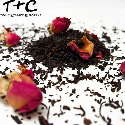 Chinese Rose Tea - Premium Black Tea-Based Ceylon 50g - 500g + Free P&P