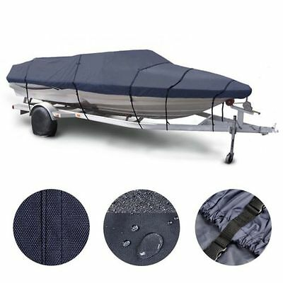 20' 21' 22' V-Hull Fishing/Ski 600D Waterproof Trailerable Boat Cover Beam 100""