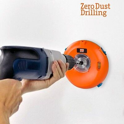 Pwr Work Dust & Debris Eliminator Drilling Collector Hole Drill Holesaw New Tool
