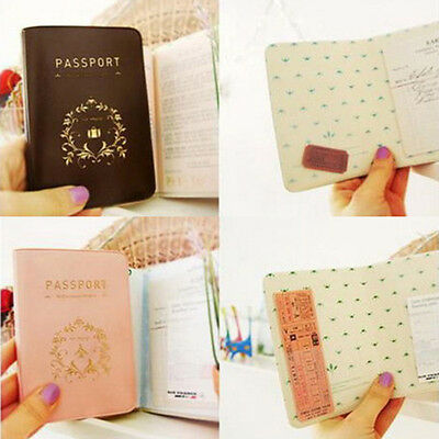 Travel Passport ID Card Cover Holder Case Protector Skin PVC Exceptional Luxe