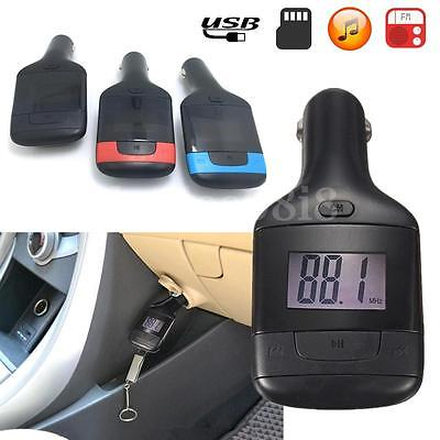 Car MP3 Player Wireless FM Radio Transmitter TF USB AUX Charger For Mobile Phone