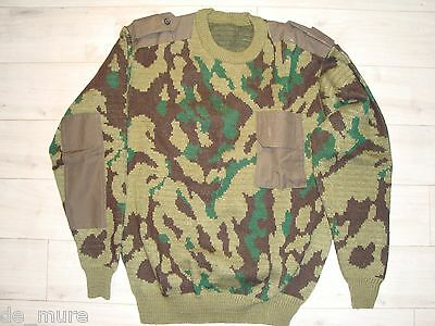 Russian army uniform VSR sweater/pullover with shoulder straps