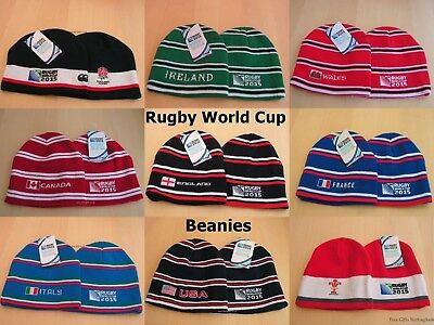 Official 2015 Rugby World Cup Beanies - RWC2015 Embroidered Beanies