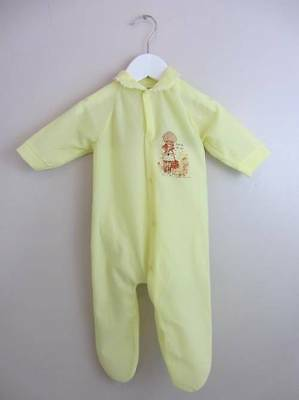 Vintage baby sleep suit large doll Holly Hobby 1968 cuddle me with love 60's New