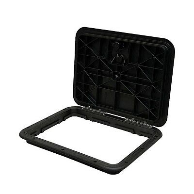 Innovative Product Solutions 520-209 M-1317-BLK 13 x 17 Black Boat Deck Hatch