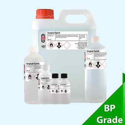 Surgical Spirit BP (Denatured Ethanol Blend) 100ml to 20L
