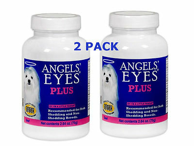 Pack Of 2 Angels Eyes For Dogs Plus Beef Flavor Tear Eliminator Angel's Eye