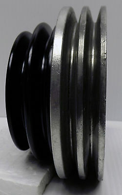 Pulley, Vw 1.6+ Pathfinder-50/55Mf Additional 6.5 Inch Dual 10Mm Belt Drive