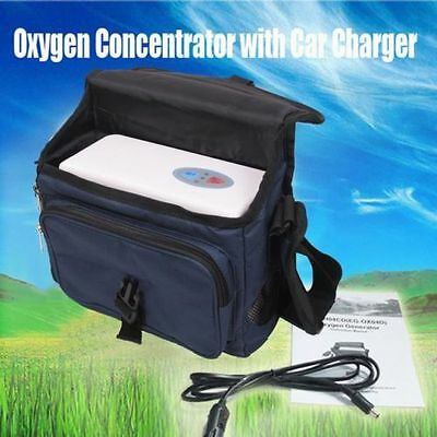 2017 Oxygen Concentrator Generator Portable Car/Home/Travel MOHO Car Charger CE
