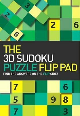 The 3d Sudoku Puzzle Flip Pad by Unknown Hardback Book The Cheap Fast Free Post