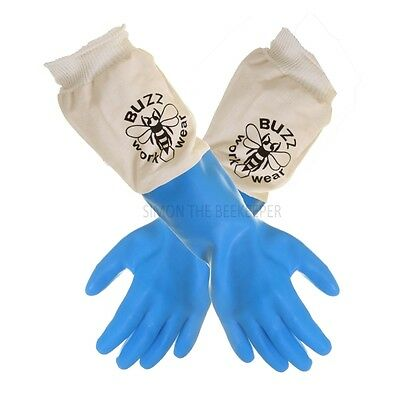 BUZZ Latex Beekeeping Gloves - Extra Small, Great quality, Best price