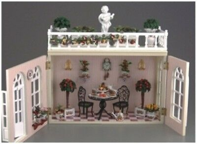 Decorated Orangery ~ Stunning 1/12th Scale Miniature By Reutter Porzellan!!!