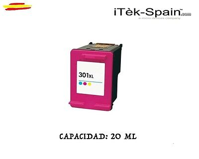 CARTUCHO TINTA HP 301 XL color Deskjet 1050-2050-2510-3050...