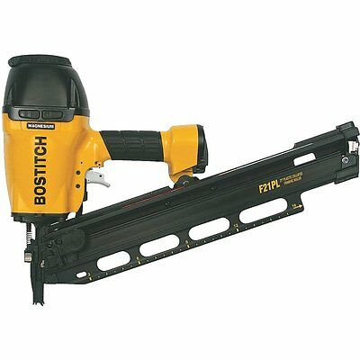 Bostitch 21 Degree 3-1/2 Inch Plastic Collated Framing Nailer