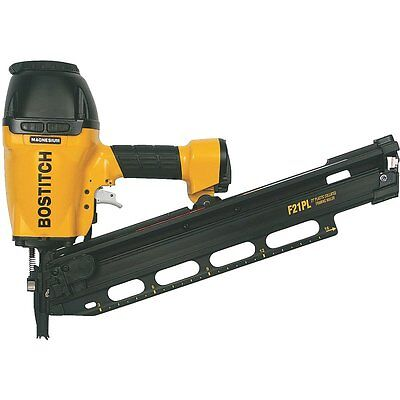 "Bostitch Full Round Head 21-Degree Framing Nailer Accepts 2"" to 3-1/2"" Nails"