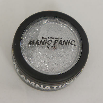 MANIC PANIC GLITTER JEWELS Body Hair Micro Glitter Powder SILVER STARDUST NEW