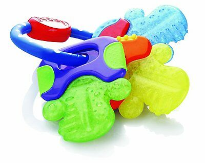 Nuby Ice Bite Teether Keys Baby Toddler Teething Gel IcyBite Brand NEW