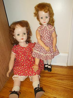 LOT 2 American Character Sweet Sue 18 inch Walker Doll and Baby Sue 21 inches