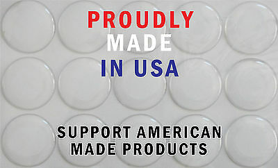 15mm CLEAR ROUND EPOXY ADHESIVE STICKERS CIRCLES DOMES FOR CRAFT PROJECT