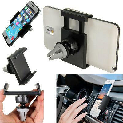 360° Rotating Car Air Vent Mount Holder Stand Cradle For Mobile Cell Phone GPS