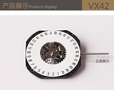 JAPAN Quartz (Battery) VX42-6H mouvement