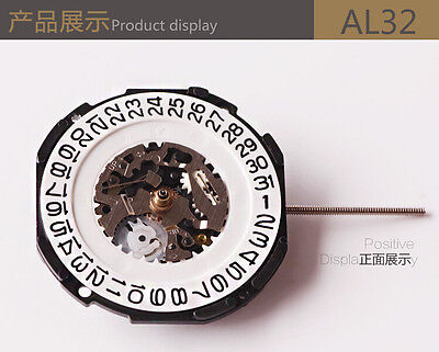 JAPAN Quartz (Battery) AL32-3H mouvement