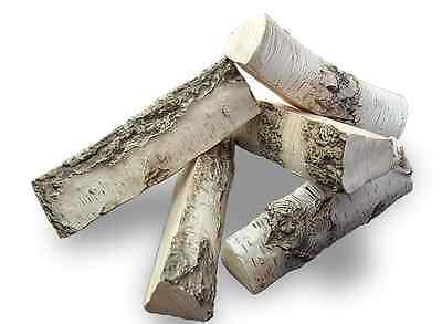 NEW BIG Fire Replacement Ceramic Logs 5pcs BEST QUALITY - REALISTIC LOOK
