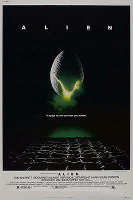 Reproduction Movie Poster - Alien