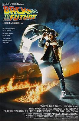 Reproduction Movie Poster - Back To The Future
