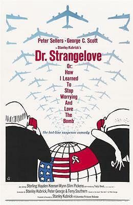 Reproduction Movie Poster - Dr Strangelove