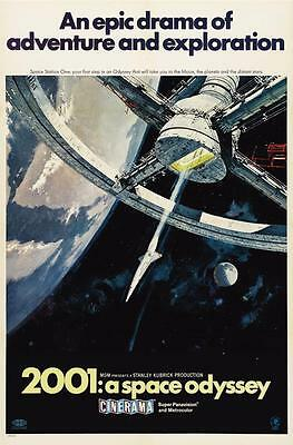 Reproduction Movie Poster - 2001: A Space Odyssey