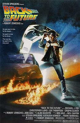 Reproduction Movie Poster on Canvas - Back To The Future