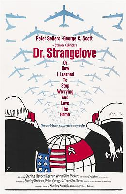 Reproduction Movie Poster on Canvas - Dr. Strangelove