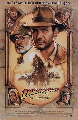 Reproduction Movie Poster - Indiana Jones and the Last Crusade