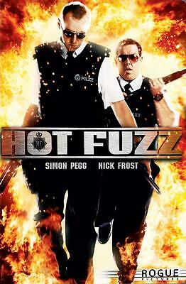 Reproduction Movie Poster on Canvas - Hot Fuzz