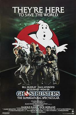 Reproduction Movie Poster on Canvas - Ghostbusters