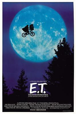 Reproduction Movie Poster - ET - The Extraterrestrial