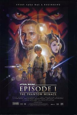 Reproduction Movie Poster - Star Wars Episode I - The Phantom Menace