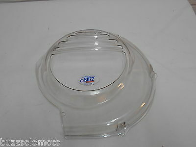 Flywheel Cover to fit Vespa PX LML 2T Electric Start in Transparent Plastic