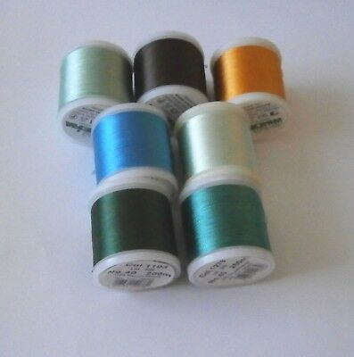 Madeira Rayon Machine Embriodery Thread (Classic No 40)  - 1 x 200 metre Reel