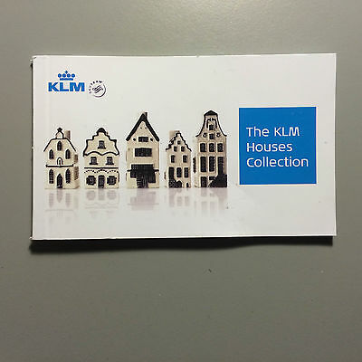 KLM Royal Dutch Airlines Business Class Huisje Small Photo Book