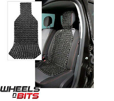 Wooden Beaded Seat cover cushion universal fit car, van , bus, taxi ,truck ETC