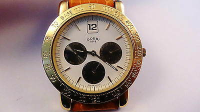 GOBBI Triple Date Quartz watch movement PUW 2590-2590N NOS